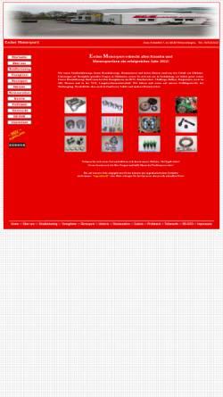 Vorschau der mobilen Webseite www.escher-motorsport.de, Escher Motorsport & Classic