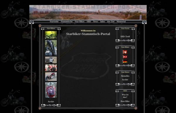 Vorschau von www.starbiker-portal.de, Metzis Starbiker-Stammtisch-Portal