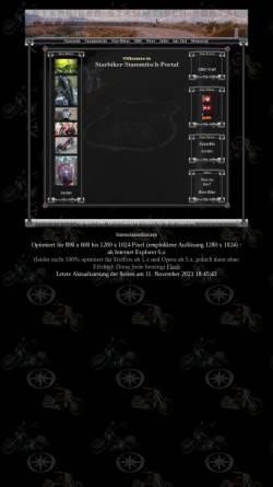Vorschau der mobilen Webseite www.starbiker-portal.de, Metzis Starbiker-Stammtisch-Portal