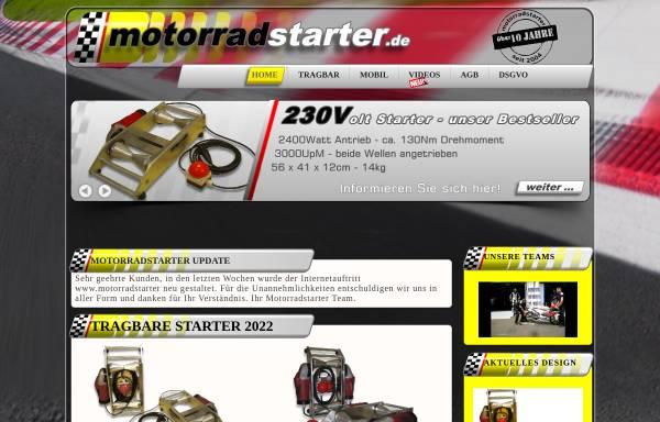 Vorschau von www.motorradstarter.de, Klaus Parthum - Motorradstarter