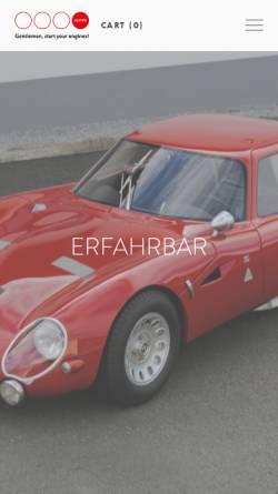 Vorschau der mobilen Webseite www.koppe.at, Koppe Motorenbau, Fahrzeugbau, Rennsportzubehör