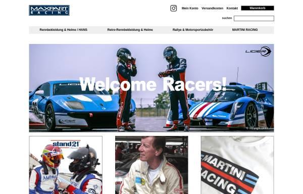 Vorschau von www.maxpart-racing.de, Maxpart Racing