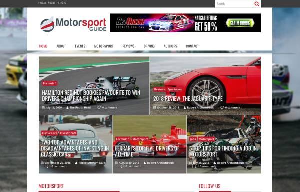 Vorschau von www.motorsport-guide.com, Motorsport-Guide.com
