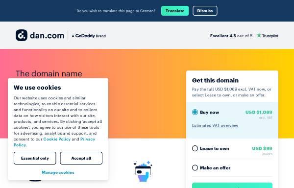 Vorschau von www.rtservice.de, R+T Service