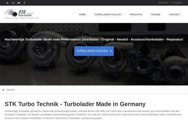 Vorschau von www.turbolader.net, STK Turbolader Technik