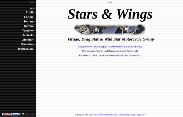 Vorschau von www.stars-and-wings.de, Stars & Wings Motorcycle Group