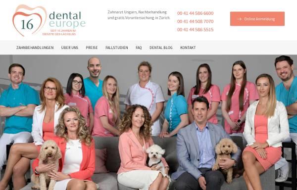 Vorschau von www.zahnarzt-in-ungarn.ch, Dental Europe