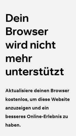 Vorschau der mobilen Webseite www.aufenanger.ch, Dr. med. dent. Judith Aufenanger