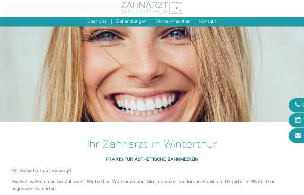 Vorschau von www.aesthetische-zahnmedizin.ch, Dr. med. dent. Ulrich Schwabenski