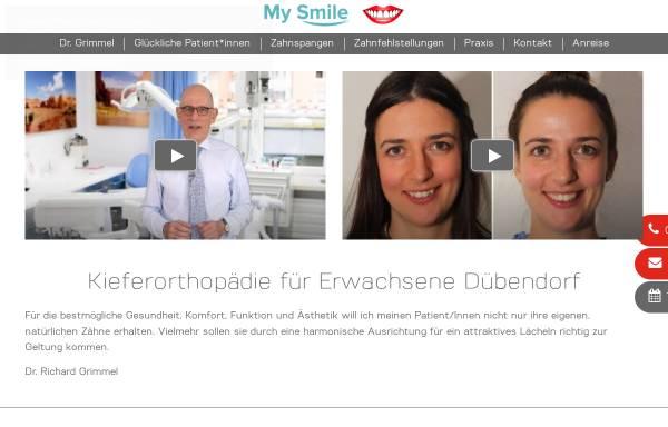 Vorschau von www.grimmel.ch, Dr. Richard Grimmel
