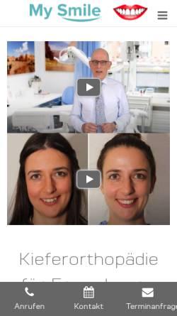 Vorschau der mobilen Webseite www.grimmel.ch, Dr. Richard Grimmel