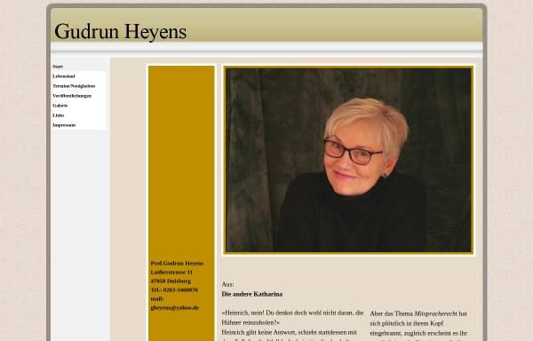 Vorschau von www.gudrunheyens.de, Heyens, Gudrun