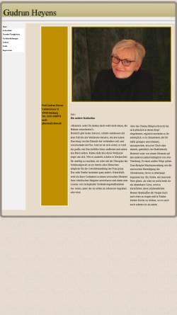 Vorschau der mobilen Webseite www.gudrunheyens.de, Heyens, Gudrun