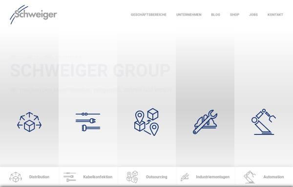 Vorschau von www.schweiger-group.de, A. Schweiger GmbH