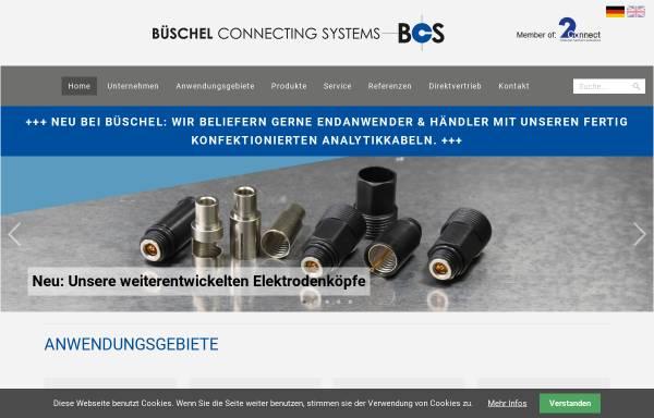 Vorschau von www.bueschel.com, Büschel Connecting Systems - J. Kauffmann & S. Wiedmann GmbH & Co. KG