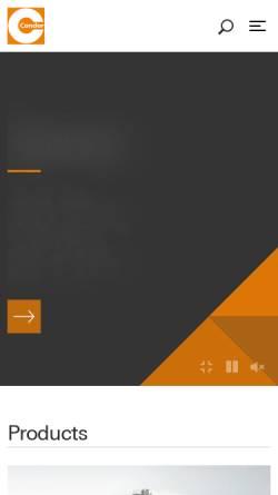 Vorschau der mobilen Webseite www.condor-werke.de, Condor-Werke Gebr. Frede GmbH & Co. KG