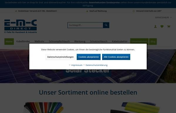 Vorschau von www.emc-direct.de, E-M-C-direct GmbH & Co. KG