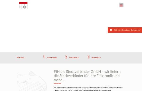 Vorschau von www.fjh.de, Franz-Josef Haxel Industrievertretungen