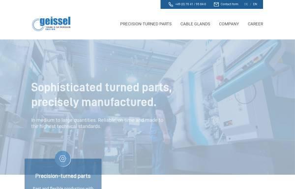 Vorschau von www.geissel.com, Geissel GmbH