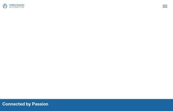 Vorschau von www.hirschmann.at, Hirschmann Automotive GmbH