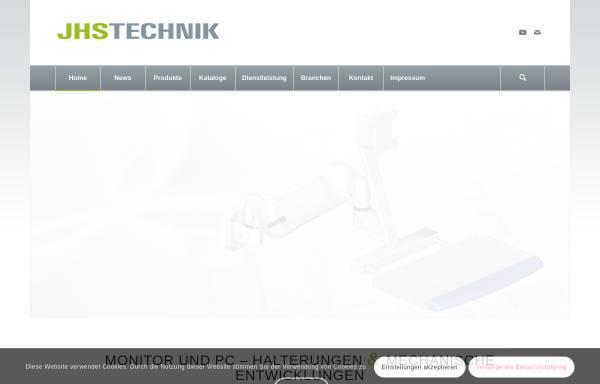Vorschau von www.jhs-technik.de, JHS Technik, Inh. Josef Schäfer