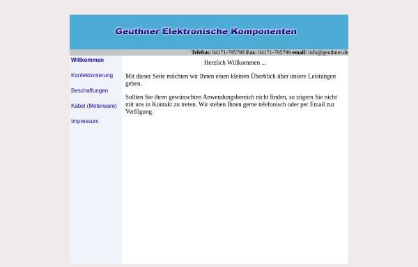 Vorschau von www.geuthner.de, Klaus Geuthner