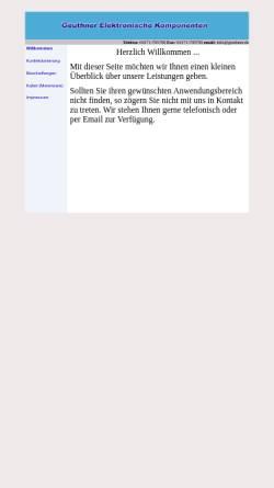 Vorschau der mobilen Webseite www.geuthner.de, Klaus Geuthner