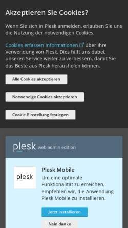 Vorschau der mobilen Webseite www.dkmic.de, Klinik für Allgemein-, Viszeral- und Endokrine Chirurgie Asklepios-Klinik Langen