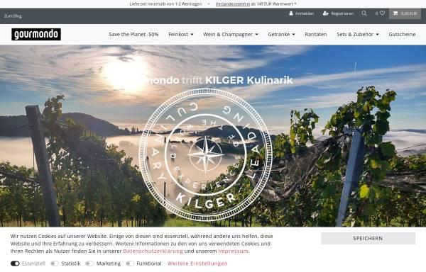 Vorschau von www.gourmondo.de, Gourmondo Feinkost-Versand