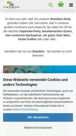 Vorschau der mobilen Webseite www.vicios-brasileiros.de, Vicios Brasileiro, Valquiria Englmeier