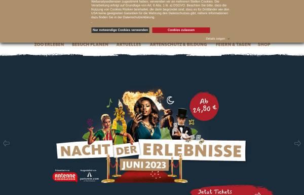 Vorschau von www.zoo-hannover.de, Zoo Hannover GmbH