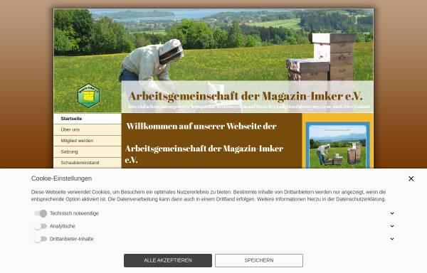 Vorschau von www.magazinimker.de, Arbeitsgemeinschaft der Magazin-Imker e.V.