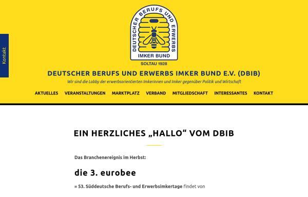 Vorschau von berufsimker.de, Deutscher Berufs- und Erwerbs Imkerbund e.V.