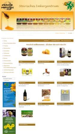 Vorschau der mobilen Webseite www.honig.at, Steirischer Landesverband für Bienenzucht