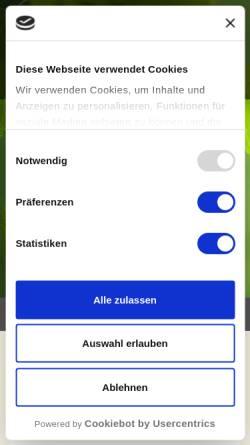 Vorschau der mobilen Webseite www.poggenburg.de, Poggenburg Holzbau GmbH