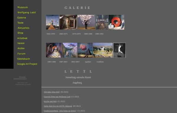 Vorschau von www.lettl.de, Augsburg, Lettl-Atrium - Museum für surreale Kunst