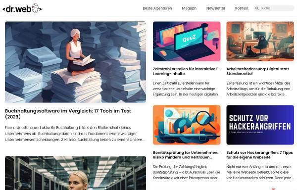 Vorschau von www.drweb.de, Dr. Web Weblog