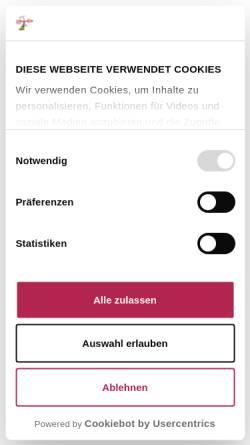 Vorschau der mobilen Webseite www.buchheimmuseum.de, Bernried, Buchheim Museum der Phantasie