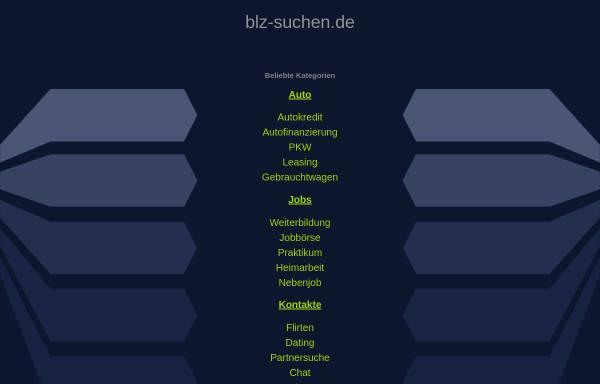 Vorschau von www.blz-suchen.de, Suche und Validierung von Bankleitzahlen und Kontonummern