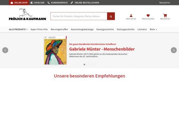 Vorschau von www.froelichundkaufmann.de, Frölich&Kaufmann