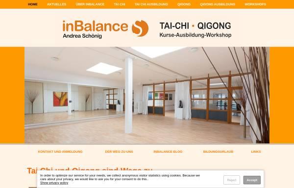 Vorschau von www.andrea-schoenig.de, inBalance, Andrea Schönig