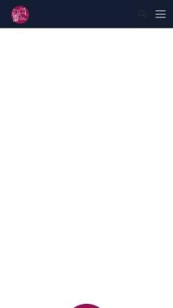 Vorschau der mobilen Webseite www.schloss-ringenberg.de, Hamminkeln, Kunstmuseum Schloss Ringenberg