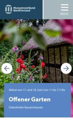 Vorschau der mobilen Webseite www.nissenhaus.de, Husum, Ludwig-Nissen-Haus