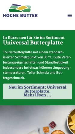Vorschau der mobilen Webseite www.trilactis.de, Trilactis GmbH