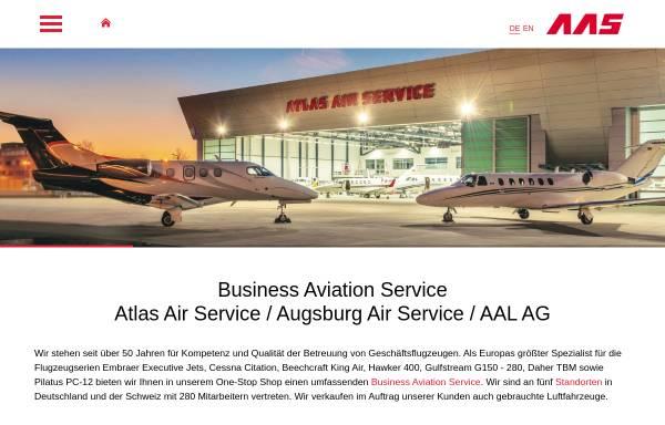 Vorschau von www.aas.ag, Atlas Air Service GmbH