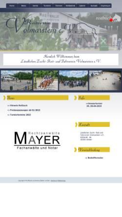 Vorschau der mobilen Webseite www.reitverein-volmarstein.de, Ländlicher Zucht-, Reit- und Fahrverein Volmarstein e.V.