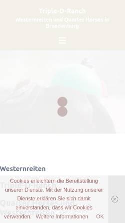 Vorschau der mobilen Webseite www.pferdefreundeteam.de, Pferdefreundeteam e.V.