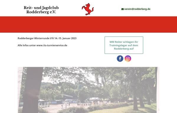 Vorschau von www.rodderberg.de, Reit- und Jagdclub Rodderberg e.V.