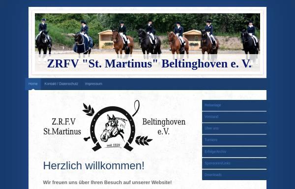 Vorschau von www.reitverein-beltinghoven.de, Reitverein St. Martinus Beltinghoven e.V.