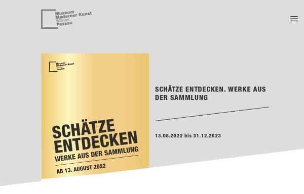 Vorschau von www.mmk-passau.de, Passau, Museum Moderner Kunst